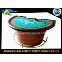 Buy cheap Half Round Five Cards Black Jack table from wholesalers