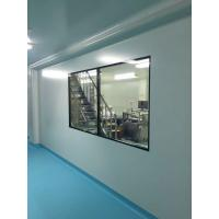 Quality Hospital Modular Clean Room 5mm Tempered Glass Double Glazing Window Aluminum Frame for sale