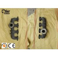 China Sivler Color 4D31 Diesel Engine Exhaust Manifold Cast Iron Material on sale