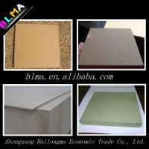 Quality E1 grade mdf with laminate sheet for sale