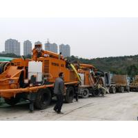 Quality 4 Wheels Concrete Spraying Equipment KC2512W Crab Swing For Space Limited Condition for sale