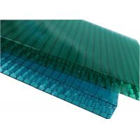 Quality Clear Plastic Honeycomb Polycarbonate Sheet 6-16MM Thickness 10 Year Warranty for sale