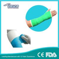 China 75mm 12ft waterproof cast liner Medical Dressing Colorful Orthopedic Fiberglass Casting Tape on sale