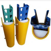 Quality Racking Protection Warehouse Column Protectors , Barrier Upright  Parking Column Guards for sale