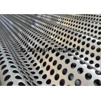 Quality Anti - Static Corrugated Perforated Metal Sheet Sound Barrier Dust And Sunshine Proof Screen Mesh for sale