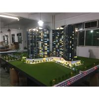 China Real Estate Maquette Miniature Building Models With Light  , Construction Architecture Model Kits on sale