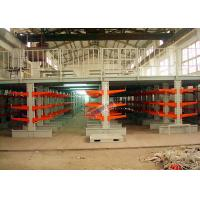 Quality Industrial Orange Extra Heavy Duty Cantilever Racks For Plywood / Furniture Parts for sale