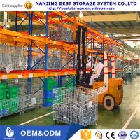 Buy cheap Euro standard heavy duty pallet rack warehouse storage equipment with high quality steel Q235B material from wholesalers