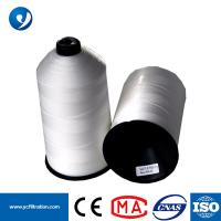 Quality White Spun 1250D OR 1500D PTFE Sewing Thread for Sewing Dust Filter Bag for sale