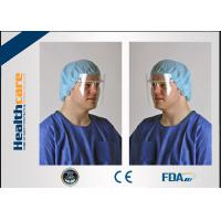 Buy cheap Anti Fog Disposable Medical Face Shield Mask For Clinc , Hospital , Restaurant from wholesalers