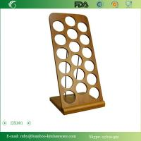China DX001/Bamboo Wooden Spice Jar Shaker Recipe Holder Rack Stand on sale