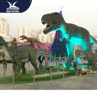 Quality Outdoor theme park high quality animatronic dinosaur for sale for sale