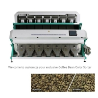 China 2.3Kw CCD Intelligent Coffee Bean Optical Color Sorter on sale