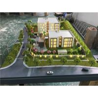 China 3d Residence Real Estate Model , Miniature Building Model With Trees Material on sale