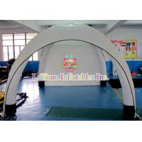 Quality Custom White Airtight Tent For Sporting Events / Inflatable Dome Tent Advertise for sale