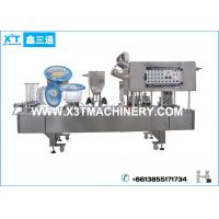 Quality Automatic Drinking Water Plastic Cup Filling and Sealing Machine for sale