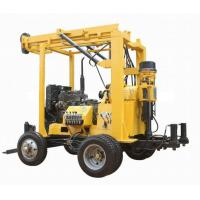 Quality XYX-3 Trailer mounted drilling rig 600meter depth for sale