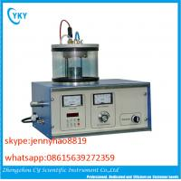 China Lab DC/RF single target mini type magnetron sputtering coating machine on sale