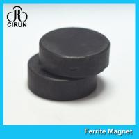 Y30BH Disc Shape Ferrite Magnet , Round Disk Magnets Dia 18mm * 5mm