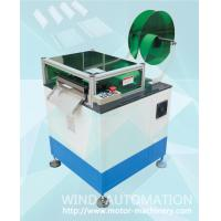 Quality Slot paper forming cresing for insulation insertion of single three phase AC motor stators for sale