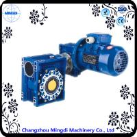 Quality 7.5-100 Ratio RV / NRV Speed Multiplier Gearbox With Aluminium Alloy Housing for sale