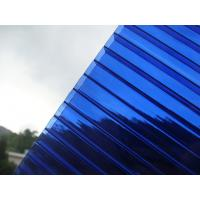 Quality Sapphire Blue 10mm Polycarbonate Roofing for sale
