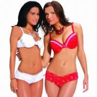 Quality Ladies' bra sets, various designs are available for sale