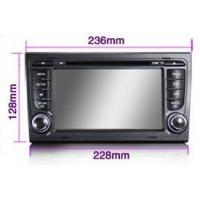 Quality Android 4.0 Digital Audi A4 In Car DVD Player Support IPOD CLASSIC / IPOD NANO / IPOD TOUCH for sale