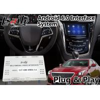 Quality Android 6.0 Video Interface Navigation Box for Cadillac CTS / XT5 2014-2018 with CUE System support Youtube Spotify Waze for sale