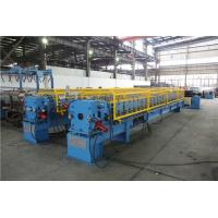 Quality Square Downspout Roll Forming Machine Single Chain Drive 406mm Width for sale