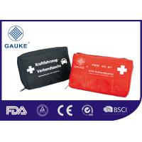 Quality DIN13164 Vehicle First Aid Box Medical First Aid Kit Compliant to European Laws for sale