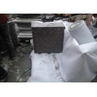 High Hardness Natural Granite Floor Tiles , Grey Granite Countertop Slabs