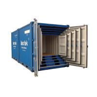 Quality 10ft Mini Shipping Container Inside 9ft 8ft 7ft 6ft 5ft Environmental Friendly for sale