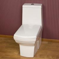 China 20years production experience product bathroom popular Sanitary ware Siphonic One-piece Toilet on sale