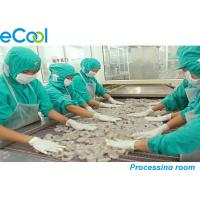 Quality Custom Industrial Cold Storage 3000 Tons , Cold Room For Frozen Seafood for sale