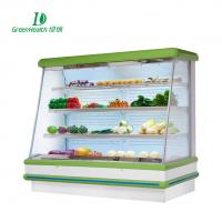 Quality Fruit Store No Frost Open Style Multideck Display Cooler With 4 Layers for sale
