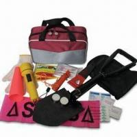 Quality Car Emergency Kit for Winter Use, Includes Flashlight and Signal Torch for sale