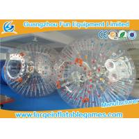 Buy cheap Bumper Soccer PVC Inflatable Zorb Ball For Ramp Zorbing / Grass , Hill Or Land product
