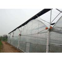 Quality Double Layer Plastic Film Greenhouse Comprehensive Protection Designed for sale
