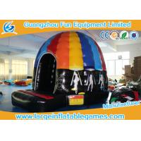 Quality Online Buy Wholesale Disco Dome Inflatable Dome Slide Combo From China for sale