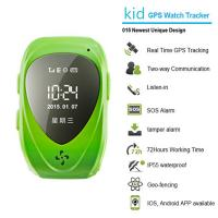 015 go everywhere smart wrist watch gps personal tracker for kids/old people with sos call