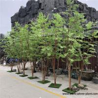 Multi - Wood Combination Artificial Green Maple Tree 2m Height No Crack for sale