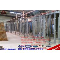 Quality Concrete Lightweight EPS Wall Panel Forming Machine GRG / GRC Board Making for sale