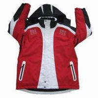 Quality Ski Wear with Detachable Hood, OEM/ODM Orders Welcomed for sale