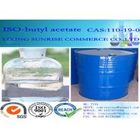 Buy cheap Common Chemical Solvents Iso Butyl Acetate Olorless Transparent Liquid C6H12O2 product