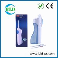 China Lowest price Portable Battery powered Dental Flosser Oral Hygiene Irrigator Water Jet Teeth Cleaner on sale