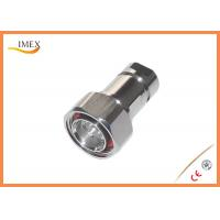 "Buy cheap RF Coaxial 7/16 Jack DIN male connector Feeder connector for 1/2"" corrugated cable product"