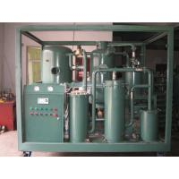 Quality Single-stage Vacuum Transfomrer Oil Regeneration System, Oil Treatment Plant ZYB-100 for sale