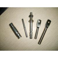 China Flat head bolt,Adjustable arm,stainless steel screw,stone anchor,flange pin,tuve anchor,stone anchor,screw on sale