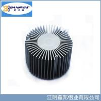 Quality Sunflower Precistion Shapesof  Heat Sink Aluminum Extrusion Profiles for sale